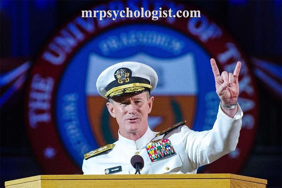 ۱۰ درس زندگی که باید از نیروی دریایی ارتش آمریکا و آدمیرال مک ریون بیاموزیم.