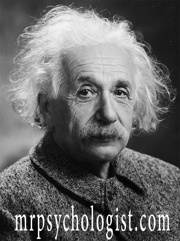 If we take a look at Einstein's hair we will say that he was the most ardent scientist in the world.