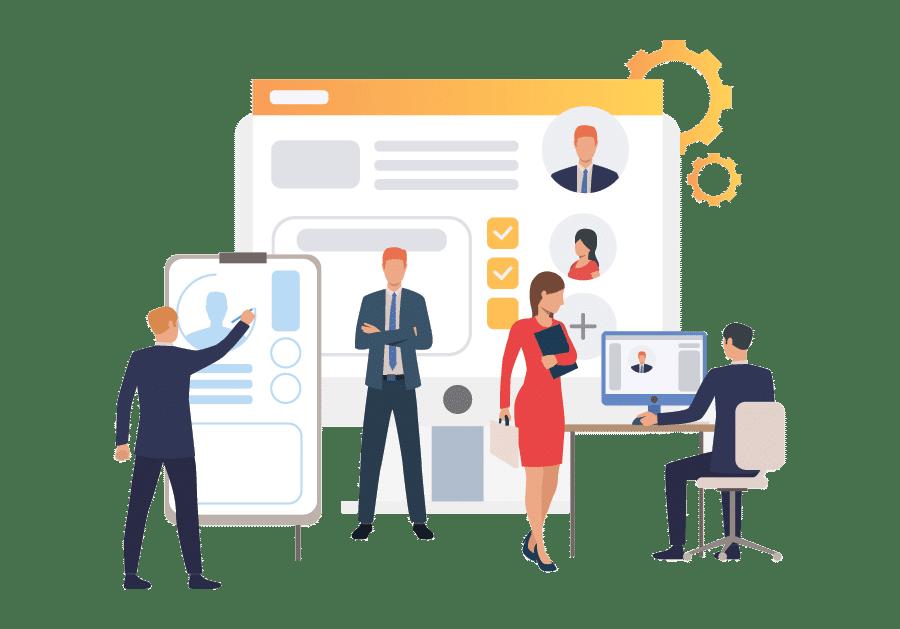 طراحی وب سایت شرکتی و سازمانی
