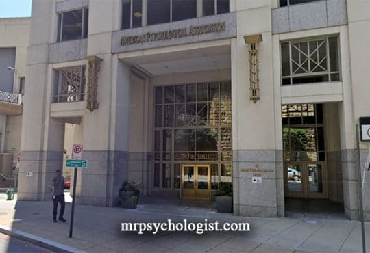 انجمن روانشناسی آمریکا - American Psychological Association