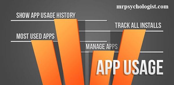اپلیکیشن App Usage برنامهٔ مدیریت زمان موبایل