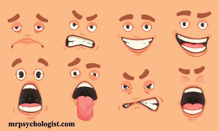 زبان بدن حرکات چشمی، لب و دهان