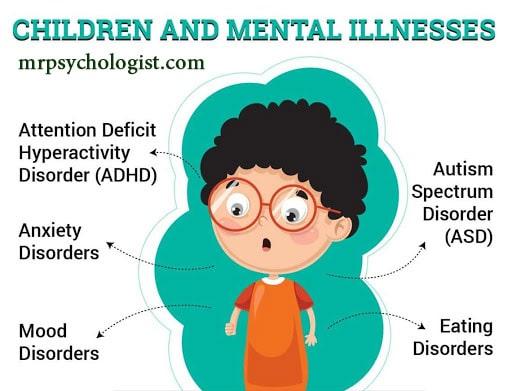 اختلالات روانی کودکان و شیوهٔ درمان اختلال روانی کودک