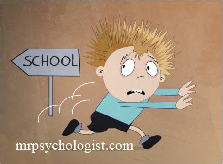 ترس از مدرسه یا فوبیای مدرسه یا مدرسه هراسی
