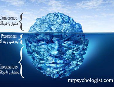 ساختار ذهن انسان از دیدگاه فروید، هشیار و ناهشیار