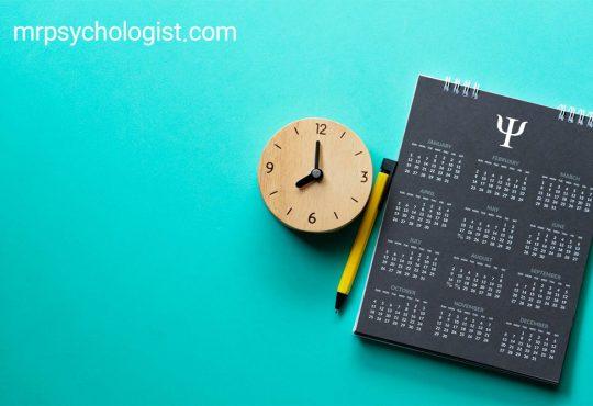 تاریخهای مهم روانشناسی در تقویم