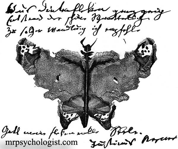 آزمون رورشاخ - Rorschach Test