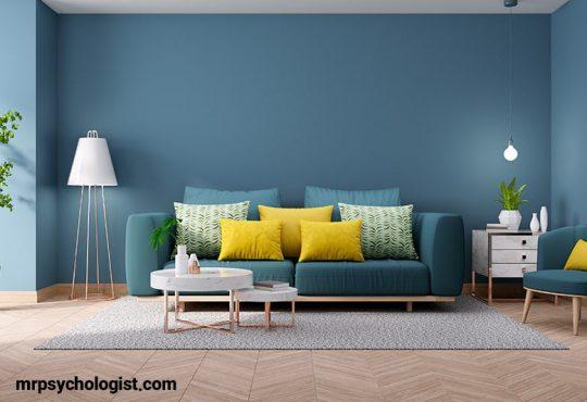 اصول روانشناسی رنگ خانه و اتاق