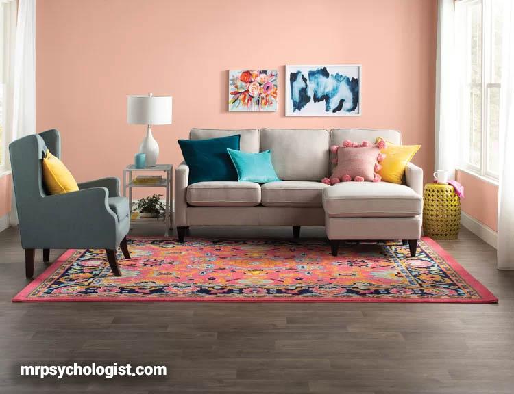 اصول روانشناسی رنگ خانه