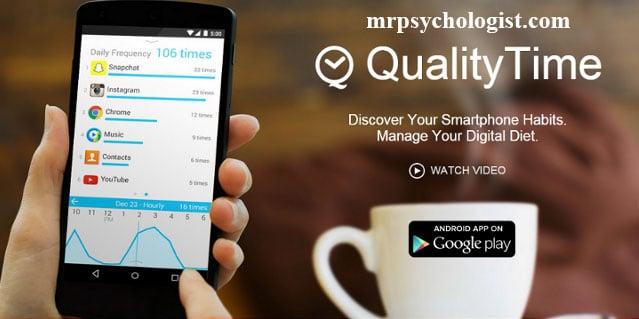 اپلیکیشن QualityTime برای کنترل استفاده از موبایل