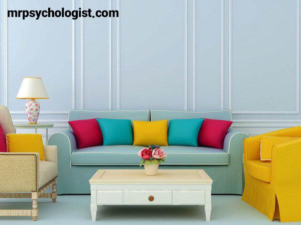 روانشناسی رنگ خانه و اتاق