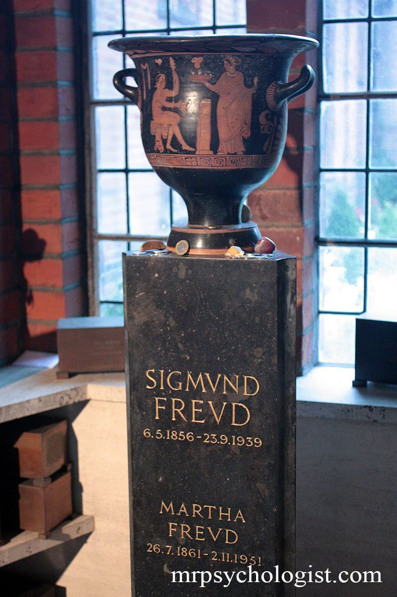 خاکستر زیگموند فروید