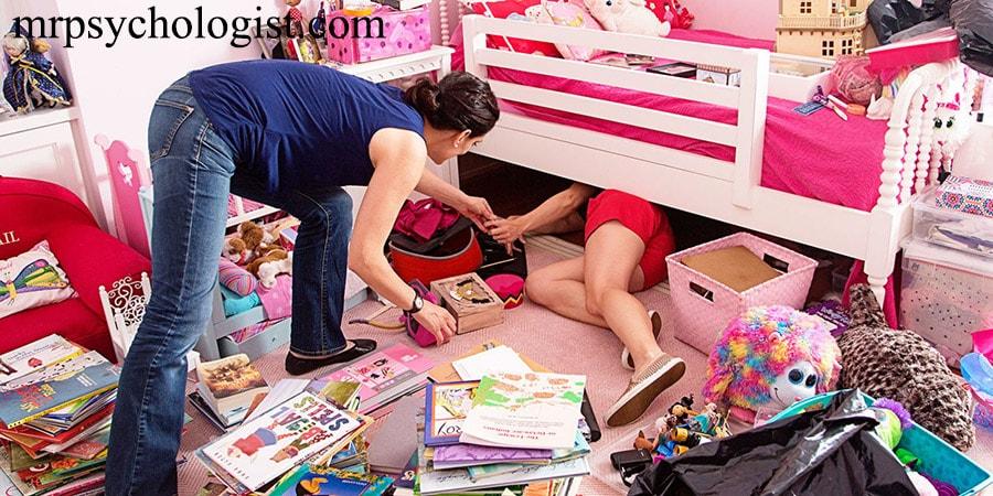 راهکار برخورد با کودک نامنظم و شلخته برای مرتب کردن وسایل و اتاقش