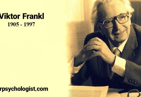 بیوگرافی ویکتور فرانکل پدر معنادرمانی